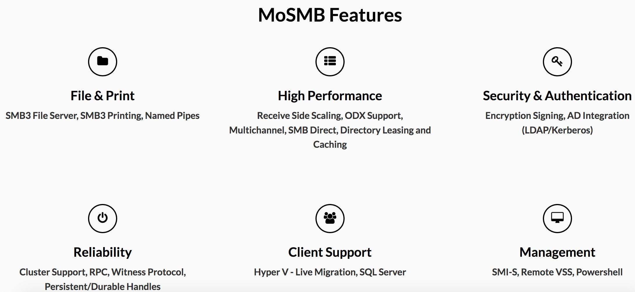 Ryussi MoSMB – High performance SMB – Storage Gaga